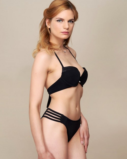 Bikini Top SESSILY BLACK SEA