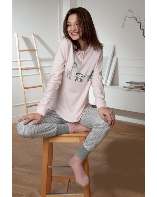Pyjama Cotonella Funny Zoo
