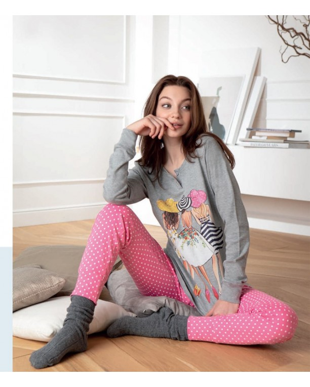 Pyjama Cotonella Fancy girls