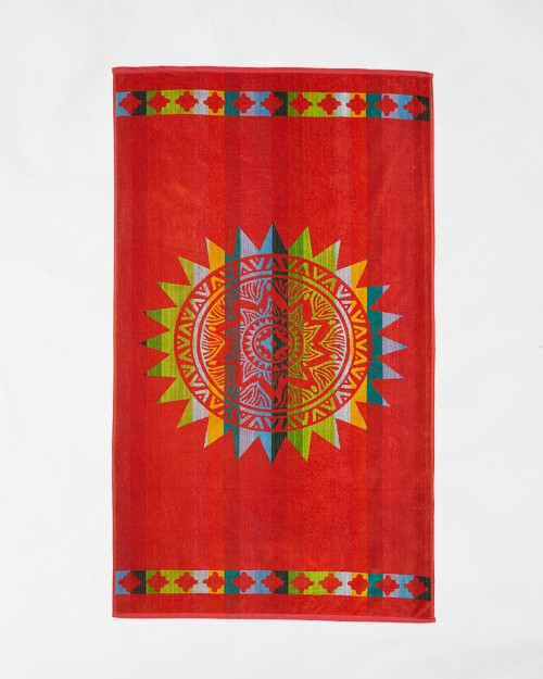 Beach towels Le Comptoir de la Plage - Orange sun